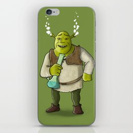 Shrek Smoking iPhone Skin