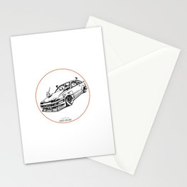 Crazy Car Art 0008 Stationery Cards