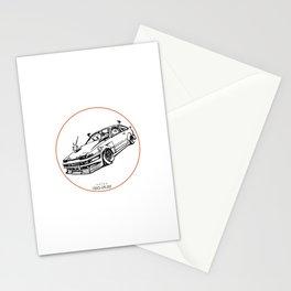 Crazy Car Art 0008 Stationery Cards