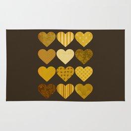 Chocolate Hearts Rug
