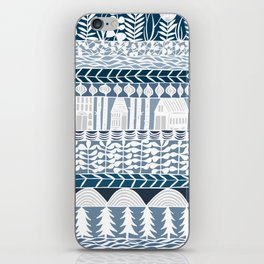 rows and rows iPhone Skin