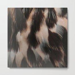 Hawk Feathers Metal Print