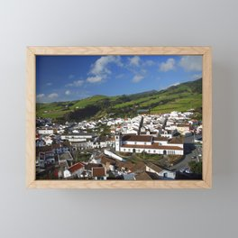Agua de Pau Framed Mini Art Print