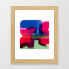 Rain Pillow Framed Art Print
