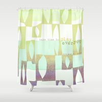 play Shower Curtains featuring Play  by maria carluccio