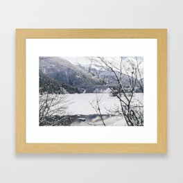 Three Valley Gap Framed Art Print