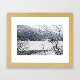 Three Valley Gap Framed Art Print