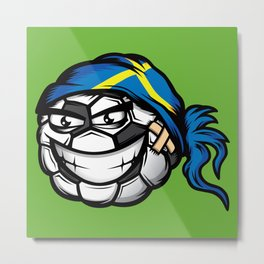 Football - Sweden Metal Print