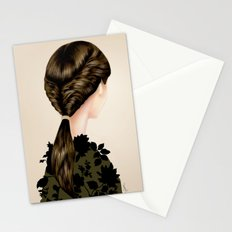 Twisted Ponytail  Stationery Cards