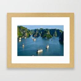 Halong Bay - Landscape Framed Art Print