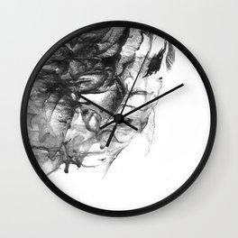 Abstract #9 Wall Clock