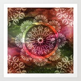 Mandala Geometric Spirit Art Print