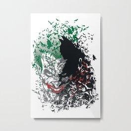 Arkham Bats Metal Print