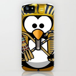 king tut tut tutankhamun tux iPhone Case