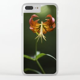 Drawing Down the Sun Clear iPhone Case