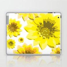 Retro Sunflowers Laptop & iPad Skin