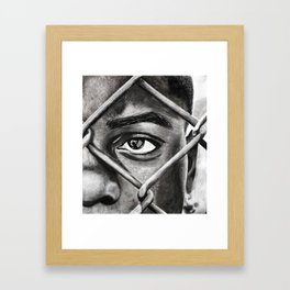 You Can't Keep Me Here Framed Art Print