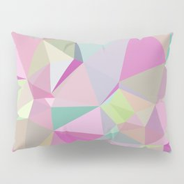 Colorful Triangles 3 Pillow Sham
