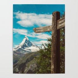 The Matterhorn Valais Switzerland Poster