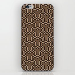 Brown Ys (70's Style) iPhone Skin