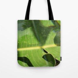 Bird of Paradise Leaf Tote Bag