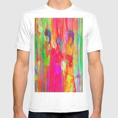 The three Graces  Mens Fitted Tee MEDIUM White