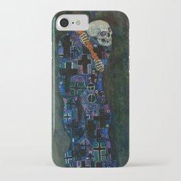 "Gustav Klimt ""Death and Life"" iPhone Case"