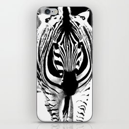 Bold Zebra iPhone Skin