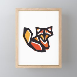 Anigami Fox Framed Mini Art Print