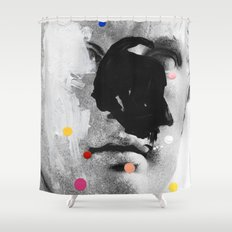 Composition 476 Shower Curtain