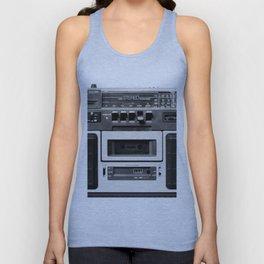 cassette recorder / audio player - 80s radio Unisex Tank Top