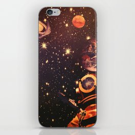Space Boots. iPhone Skin