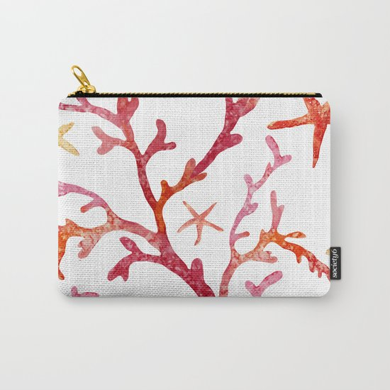 Sea Life Pattern 10 Carry-All Pouch