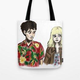 James & Alyssa Tote Bag