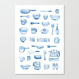 The Kitchen Canvas Print