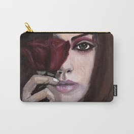 Mila Kunis - Behind this Rose Carry-All Pouch