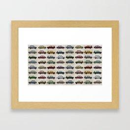 Trabant pattern Framed Art Print