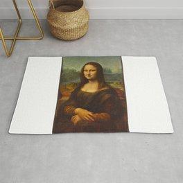 Portrait of Lisa Gherardini (Mona Lisa) Rug