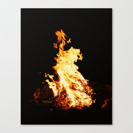 """Camp Fire"" - jjhelene Canvas Print"
