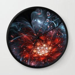 Just a splash Wall Clock