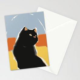 Cat alert Stationery Cards
