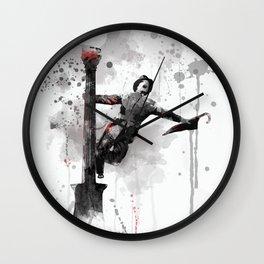 Singing in the Rain - Gene Kelly Wall Clock