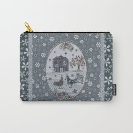Peacock Manor Carry-All Pouch