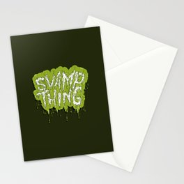 Swamp Thing Stationery Cards