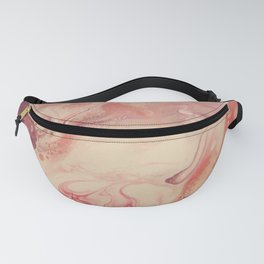 Pink Blush - Abstract Acrylic Art by Fluid Nature Fanny Pack