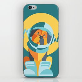 One Giant Leap for All Muttkind iPhone Skin