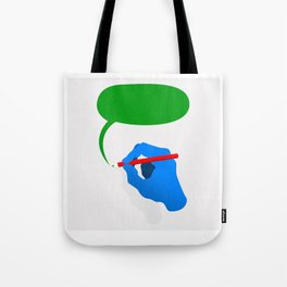 hand drawing Tote Bag