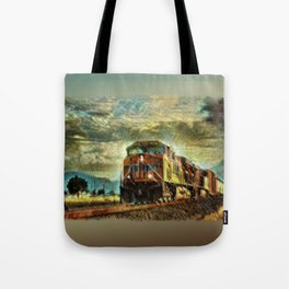 Observance Valley Freight Line Tote Bag