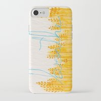 breathe iPhone & iPod Cases featuring Breathe  by Hayley Lang