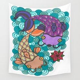 Peces de colores Wall Tapestry